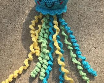 Jellyfish.. crocheted.. amigurumi..