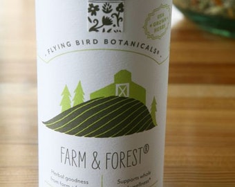 0411 Farm + Forest Organic loose leaf tea