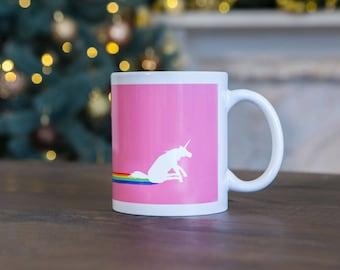 Unicorn mug, Gift ideas for her, Coffee mug
