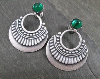 Tribal Plugs - 10g - 8g - 6g - 4g - 2g - 0g - Gothic Gauges - Plug Earrings - Gothic Jewelry - Plug Earrings - Wedding Gauges