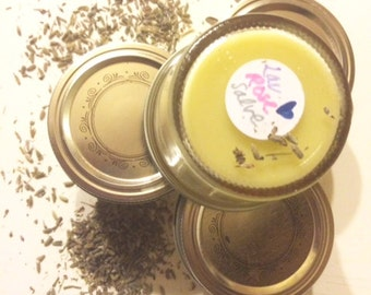 lavender & rose balm / all purpose salve / healing ointment / ultra moisturizing.