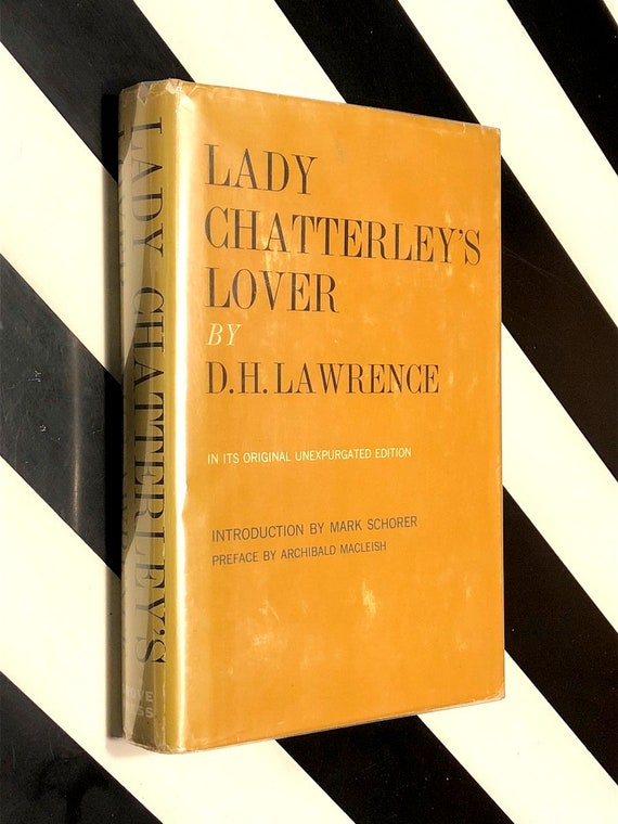 Lady Chatterley's Lover by D. H. Lawrence (1959) hardcover book
