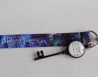 Stranger Things Christmas Lights Lanyard with Charm