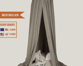 Canopy Beige, Tent canopy, Bed Canopy, Crib Canopy, kids canopy, Play room canopy