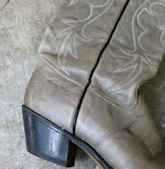 Rogers Smokey 1980s 1 7 5 7 2 Kenny Women's 8 to Boots Size 1ffq5w