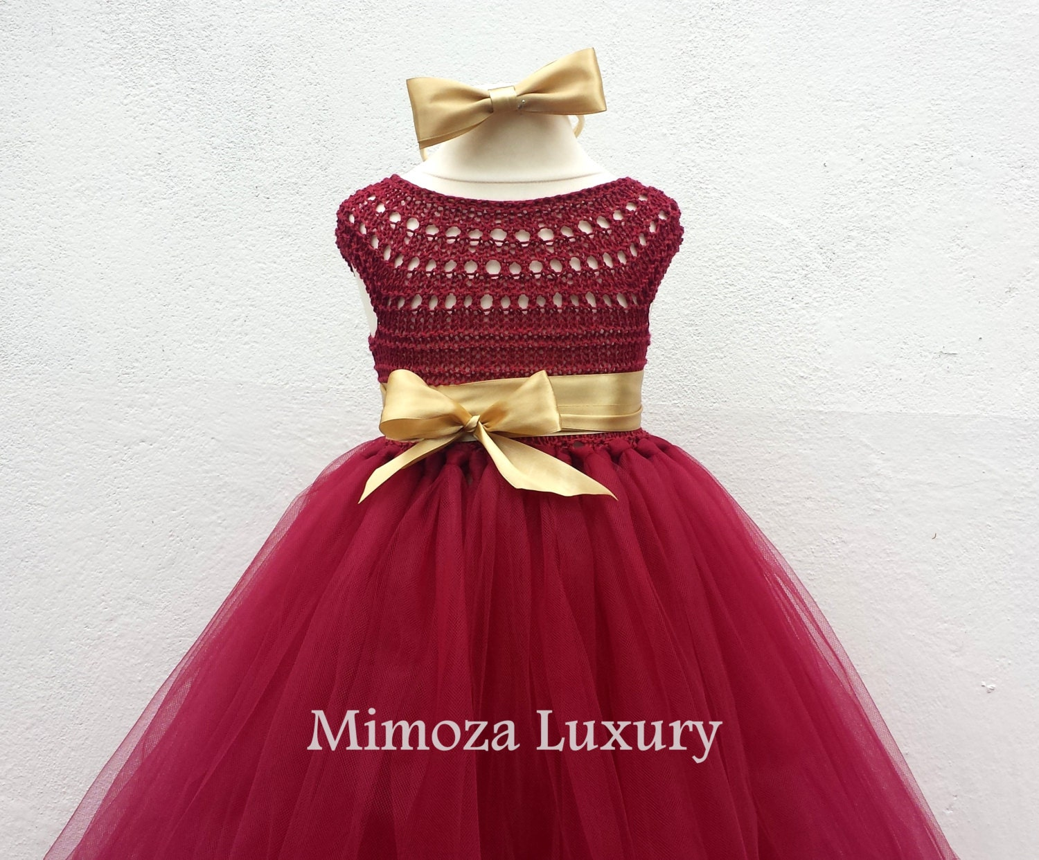 Red and Gold Dress for Girls – Dresses for Woman