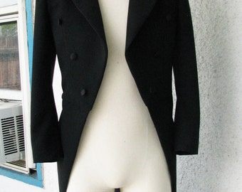 Classic Wool and Silk Tailcoats----Made to Measure