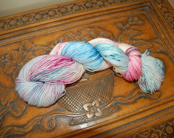 Sweets-hand dyed BFL sock yarn