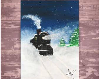 Holiday Train - 10 Postcard Prints