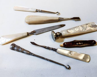 3 day sale Mother of Pearl Victorian Ladie's Necessity Kit