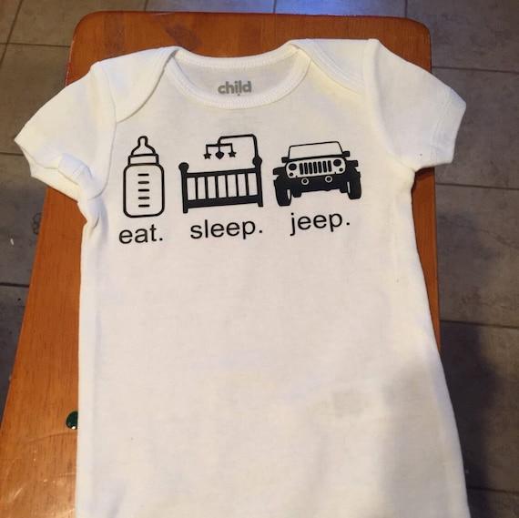 Jeep Onesie/ Eat Sleep Jeep/ Jeeper Onesie/ Jeep Baby