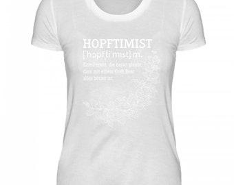 High quality ladies Organic shirt-the Hopftimist
