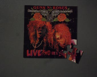 Guns N' Roses Magnetic CD Cover Puzzle