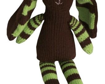Fibonacci Bunny PDF Knitting Pattern