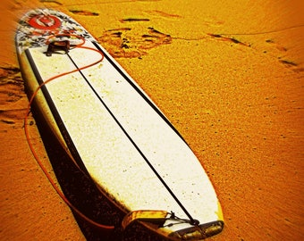 Beached Board  By C Rainwater