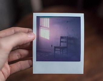Polaroid Original - Hospital Sunrise