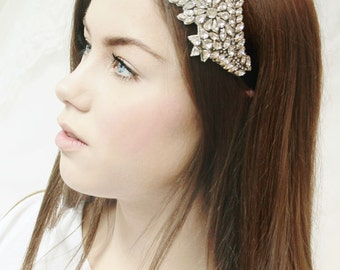 Bridal hair accessories / headpiece with crystals