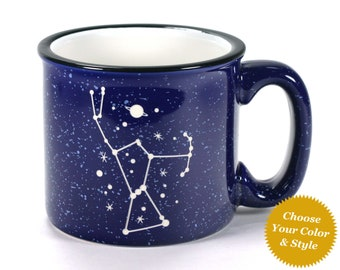 Orion Constellation Mug - Choose Your Space Cup Color