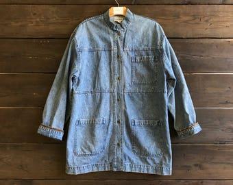 Vintage 90s Denim Coat