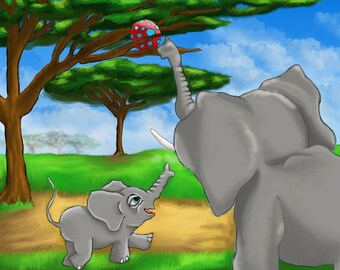 Custom Children's Illustrations - Prices Varies