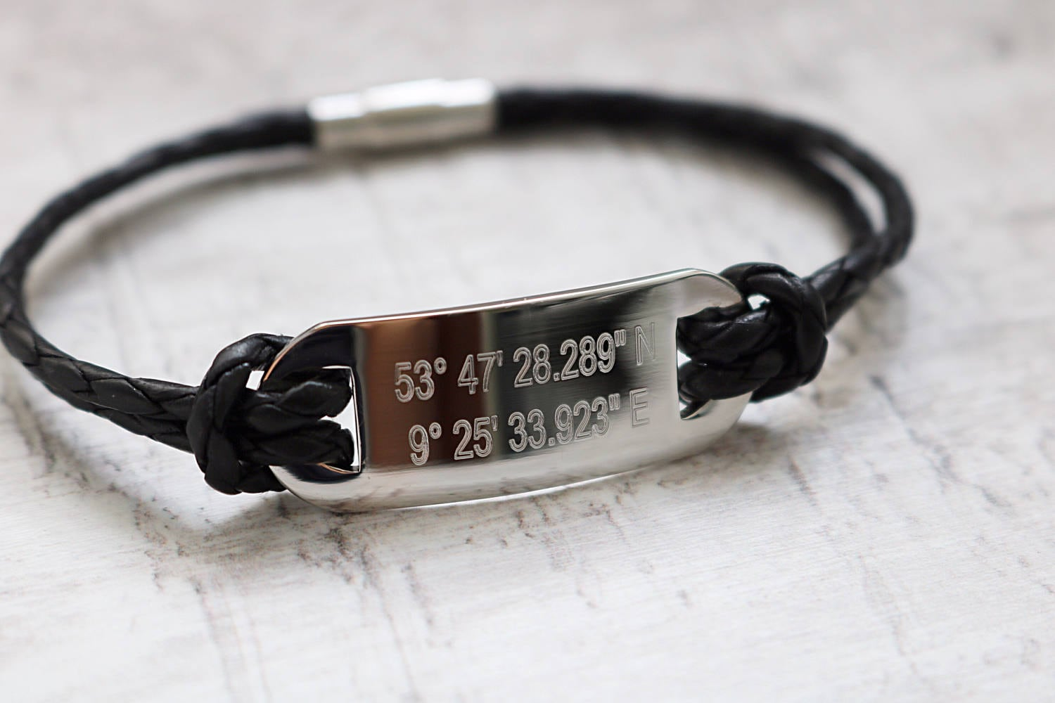 men fullxfull il longitude custom guitar bracelet products latitude silver sterling coordinate coordinates pick