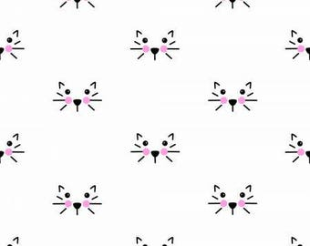 Cat White Double Gauze