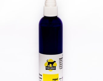Dog Tick & Flea Spray - All natural hand made with Essential Oils and organic ingredients