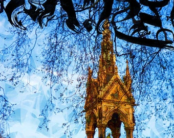 London Dreams: Albert Memorial - Giclée print