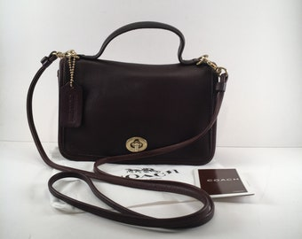Coach Bag / Vintage Coach Crossbody Bag / Coach Casino Bag / Style 9924 / U.S.