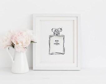 Perfume Digital Print