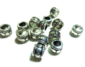 14 piece 7mm spacer beads