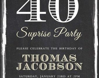 Surprise Party Invitation
