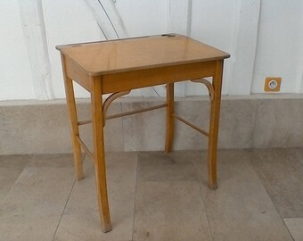 BAUMANN vintage school desk.