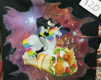 Batman Unicorn Burrito Shirt