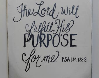 The Lord's Purpose painting