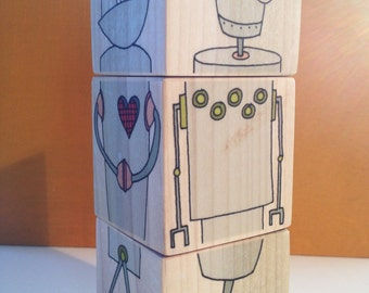 Robot Blocks