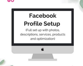 Facebook Profile Setup | Fully Optimized Social Media Profile