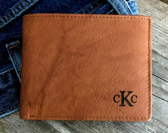 Mens leather wallet • mens personalized leather wallet • custom leather wallet • leather wallet • monogram wallet • wallet • A.Saddle* 7751