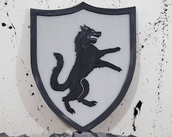 House Stark crest Game of Thrones wall art