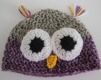 Custom Cute Owl Hat