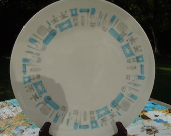 "Blue Heaven Underglaze By Royal China 10"" Dinner Plate"