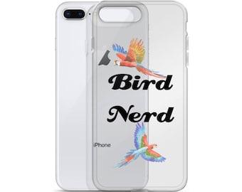 Bird Nerd iPhone Phone Case - Bird Gifts - Phone Case - Bird Nerd Case - Birdhouse - Ornithology - Bird Houses -Bird Bath -Bird Feeder -Bird