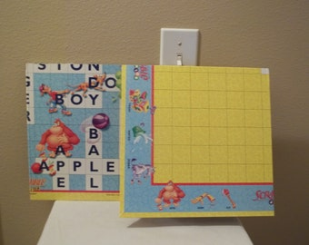 Scrabble Junior Boards-Crafters-Scrapbooking-Cardmaking