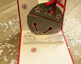Carte de vœux pop-up - Noël, Nouvel an
