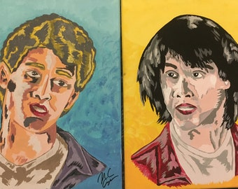 Bill And Ted - Acrylic Paintings