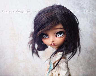 "Tirage simple 10x15cm ""Grey Eyes"" - Pullip Isul Dal photographie, doll art collection, impression deco no BJD no Blythe"