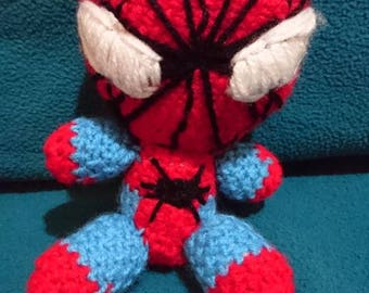 Spiderman Amigurumi with Removable Mask