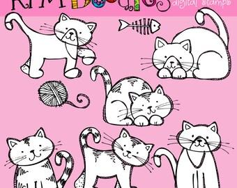 KPM Kitten  digital stamps