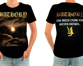 BATHORY the return shirt all sizes