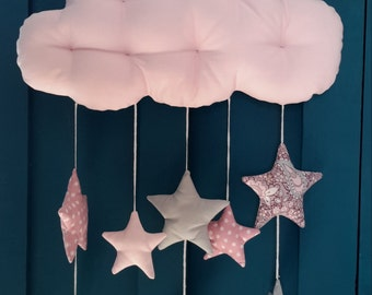Mobile infantile cloud and stars